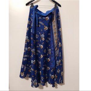 Vintage Handmade Wrap Skirt 🌙